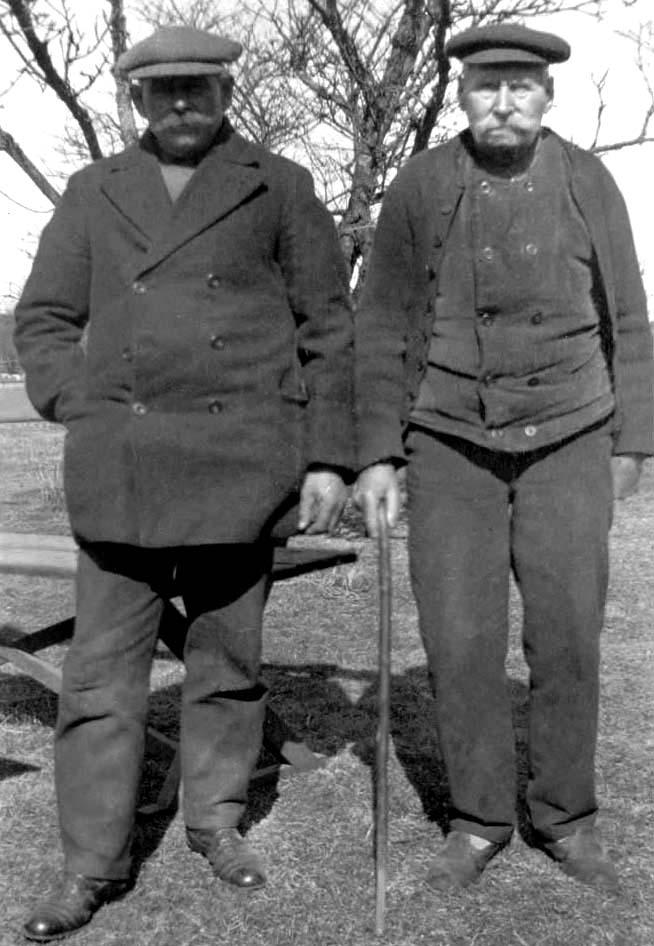 Ture och Carl Stackell